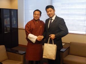 ワンチュク・ブータン経済大臣との会談