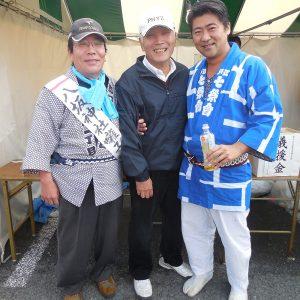 地元東村山市の産業祭に参加。