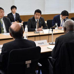 国連安保理非常任理事国に出席しました。