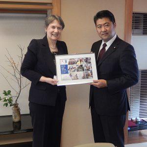 クラークUNDP総裁と昼食会を開催しました。