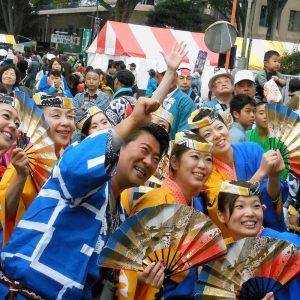 東村山の産業祭にて。