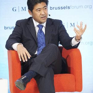ブリュッセル・フォーラム2014に日本の政治家と して初めてメインセッションのパネリストとして参加しました。