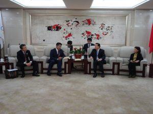 楊中国オリンピック委員会副主席と会談