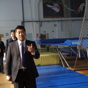団長として「東村山2020東京オリパラ事前キャンプ招致団」を率いて中国を訪問してきました。蘇州市体育局を視察。