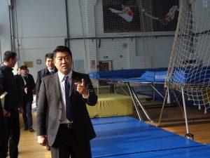 蘇州市体育局視察