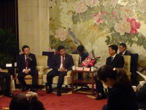 徐明蘇州市委員常務委員と会談